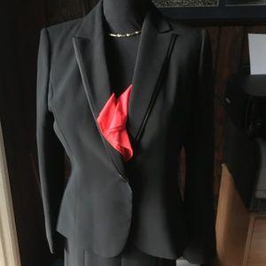 Calvin Klein Black Skirt Suit-Size 10 New w/tag